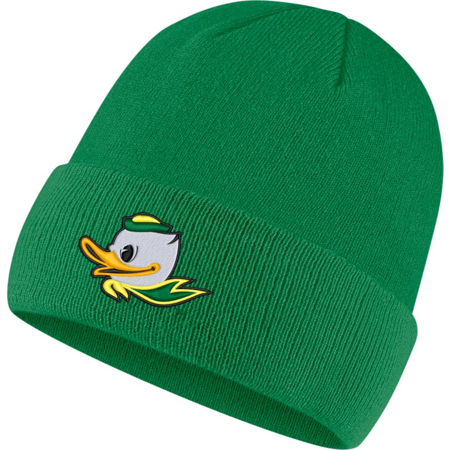 Fighting Duck, Nike, Cuffed, Beanie